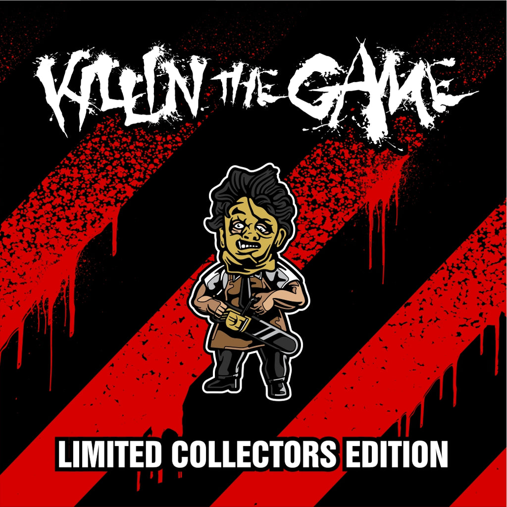 "Leatherface Killin' the Game Soft Enamel Pin (1.5"" inch)"