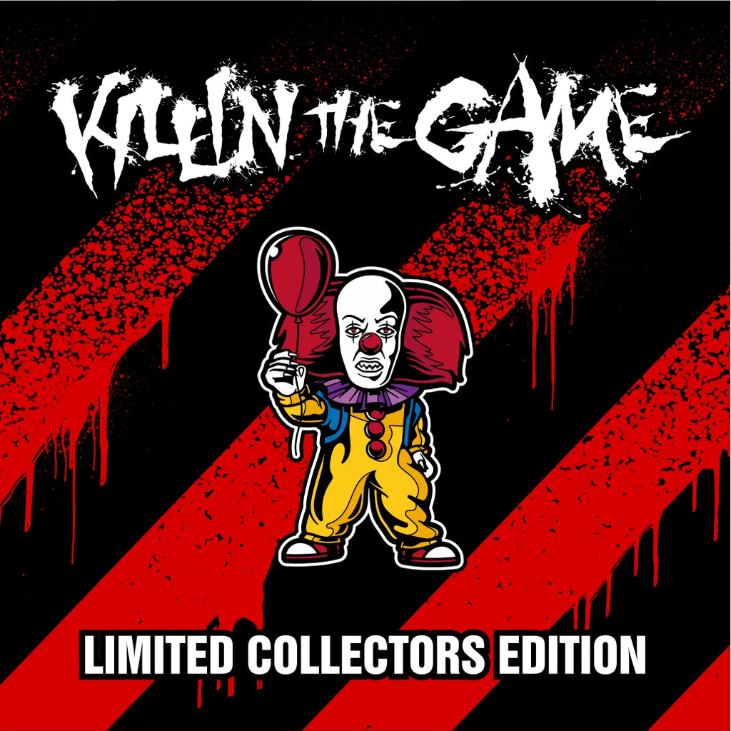 "Pennywise Killin' the Game Soft Enamel Pin (1.5"" inch)"