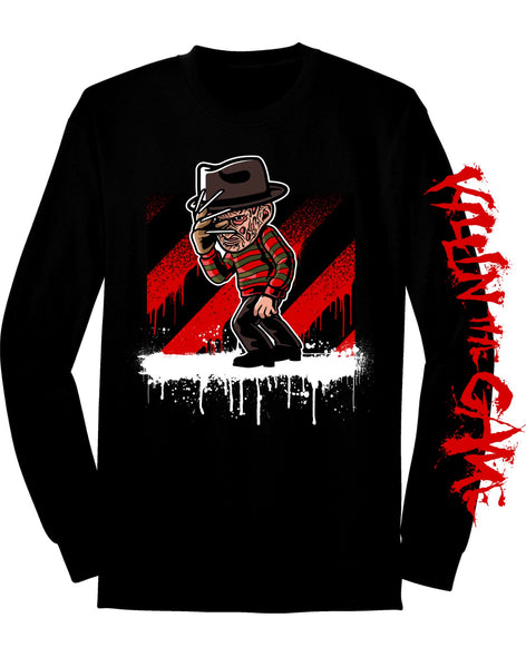 Freddy Krueger Killin' the Game Long Sleeve