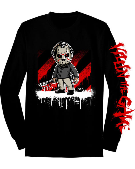 Jason Voorhees Killin' the Game Long Sleeve