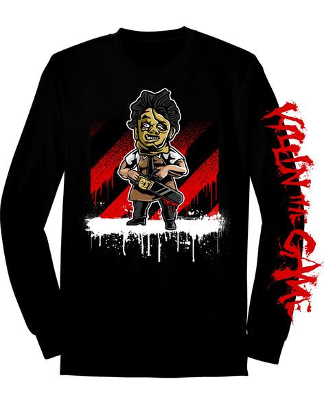 Leatherface Killin' the Game Long Sleeve
