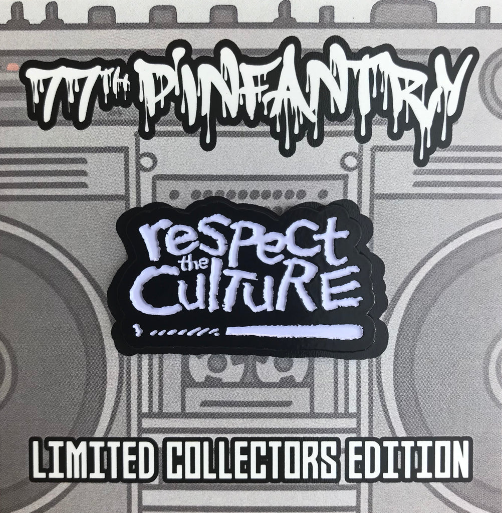 "RESPECT the CULTURE Soft Enamel Pin (1.5"" inch)"