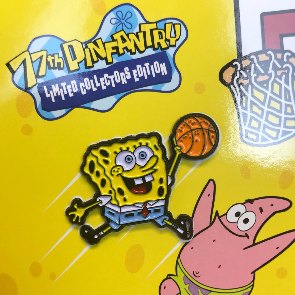 "AIR Spongbob Soft Enamel Pin (1.5"" inch)"