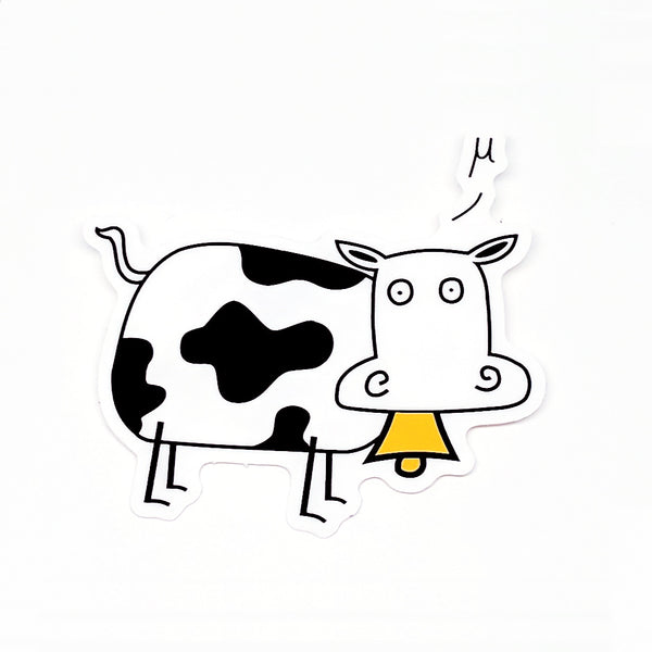 Mu Cow Sticker
