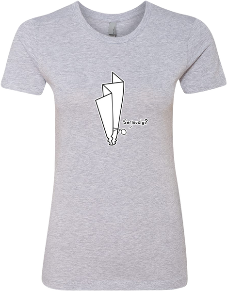 Plane Crash Ladies' Tee