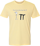 Pi Never Ends Men's Tee