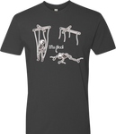 Free Skeleton Puppet Men's Tee