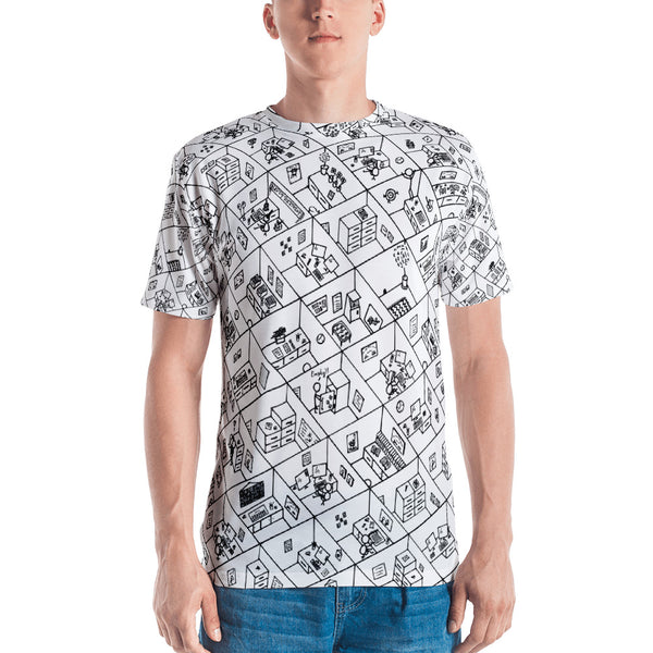 Cubicles Men's Tee