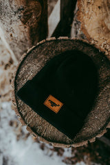 OFFICIAL TFB LEATHER BEANIE