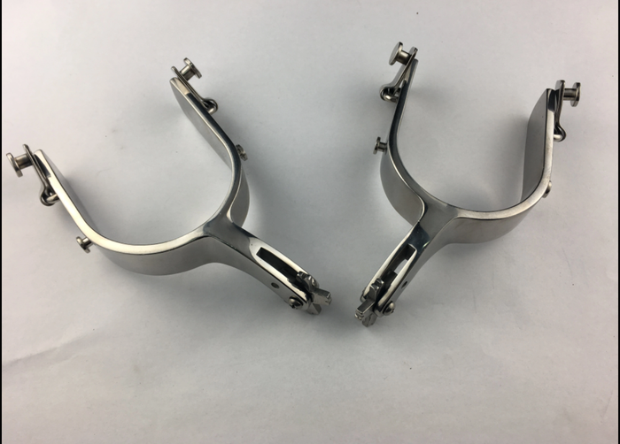 TFB Stainless Steel Bullriding Spur