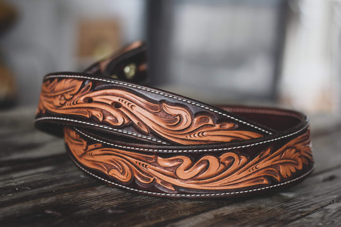 Fully Tooled Two-tone Belt