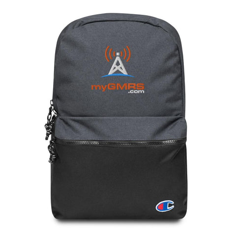 Embroidered Champion Backpack - myGMRS.com