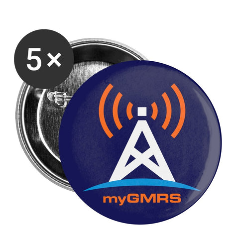 Large Buttons 2.2'' (5-pack) - myGMRS.com
