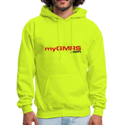 Men's Hoodie Safety Green - myGMRS.com