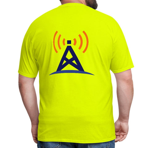 Men's T-Shirt Safety Green - myGMRS.com