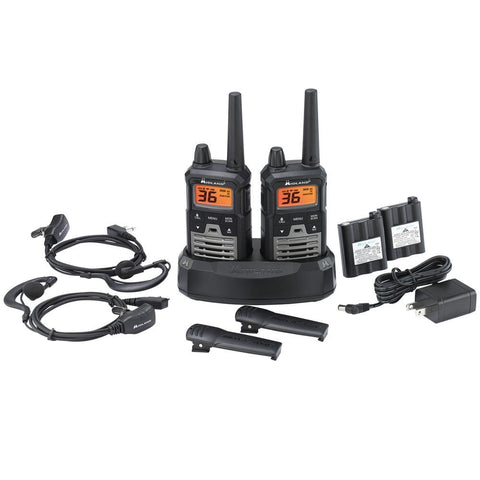 Midland T290VP4 X-TALKER GMRS Radio Value Pack (2 Pack) - myGMRS.com