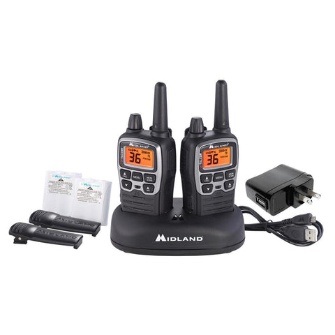 Midland T71VP3 X-TALKER FRS Radio Value Pack (2 Pack) - myGMRS.com
