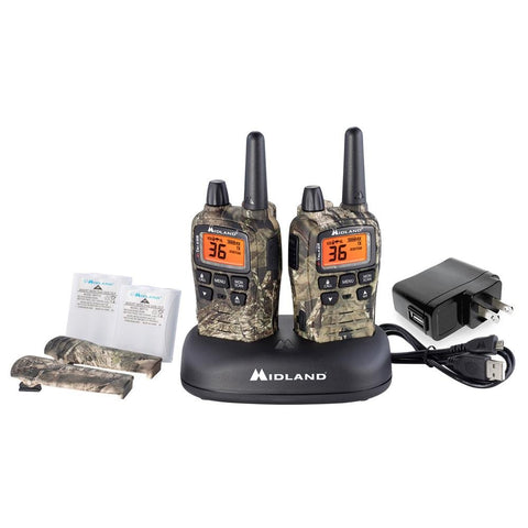 Midland T75VP3 X-TALKER FRS Radio Value Pack (2 Pack) - myGMRS.com