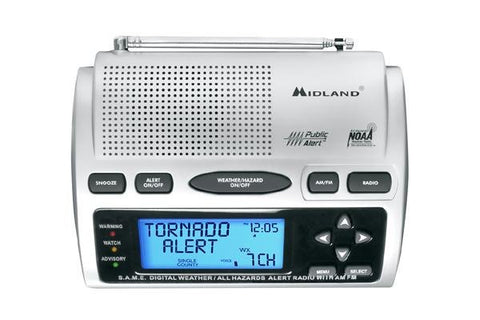 Midland WR300 AM/FM/NOAA Weather Alert Radio - myGMRS.com