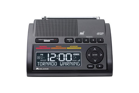 Midland WR400 Deluxe NOAA Weather Radio - myGMRS.com