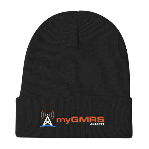 Premium Embroidered Knit Beanie - myGMRS.com