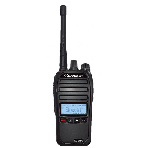 Wouxun KG-905G Repeater-Capable GMRS Radio 5W - myGMRS.com