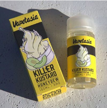 30ml Vapetasia Salts Killer Kustard Strawberry E-liquid-E-Liquid-Vapetasia-50PG/50VG-24mg-SmokDaddy