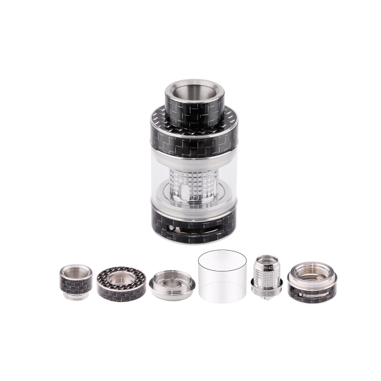 FreeMax Fireluke Mesh Tank Atomizer 3ml Carbon Fiber-atomizer-Freemax-SmokDaddy