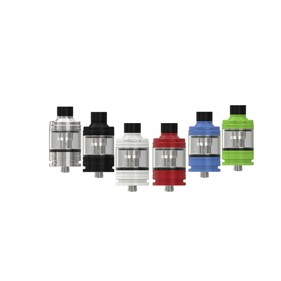 Eleaf Melo 4 Tank Atomizer 4ml Black-atomizer-Eleaf-SmokDaddy