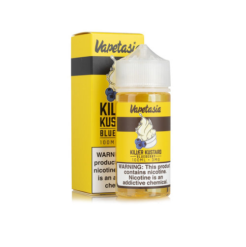 100ml Vapetasia E-liquid(30PG/70VG)-E-Liquid-Vapetasia-Killer Kustard Blueberry-0mg-SmokDaddy