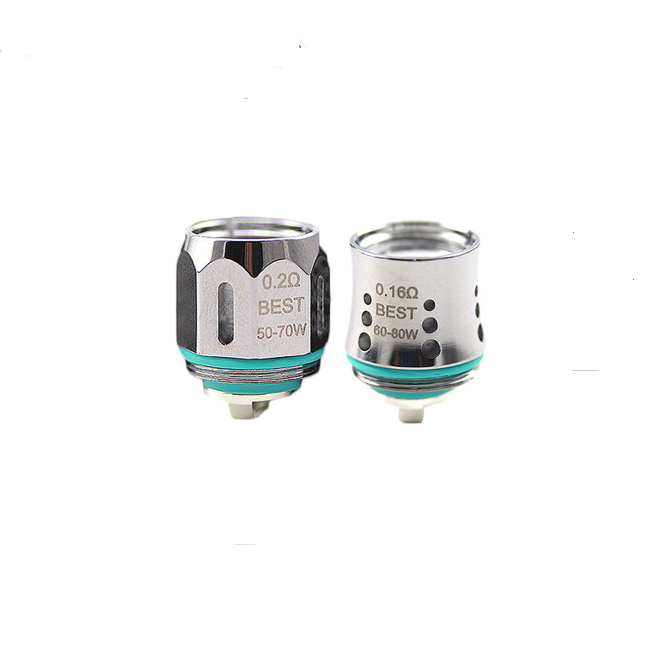 Advken Replacement Mesh Coil (0.16ohm & 0.2ohm) for Manta Tank,Advken Owl Tank (5pcs/Pack)