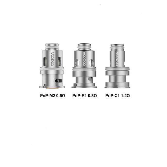 Voopoo Replacement Coils (1.2ohm & 0.8ohm & 0.6ohm & 0.3ohm & 0.45ohm) for Drag Baby Tank/VINCI Mod Pod VW Kit(5Pcs/Pack)   [Pre-order]