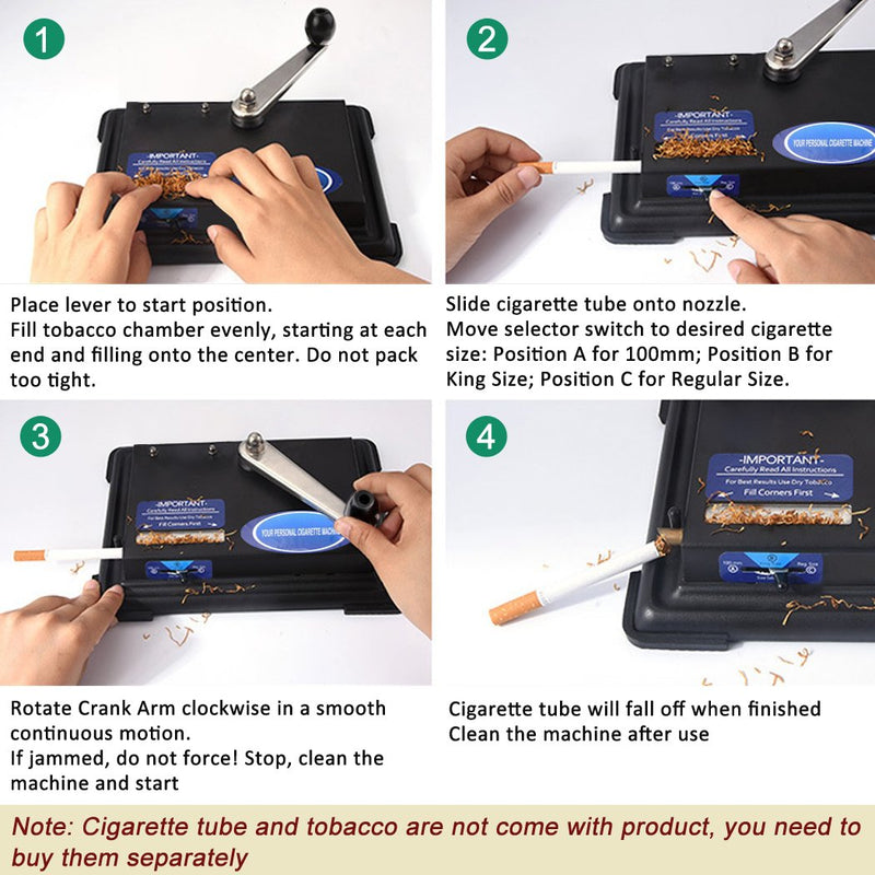 Tomasar Hand Operation Cigarette Rolling Machine,Tobacco Machine-Accessories-SmokDaddy-SmokDaddy