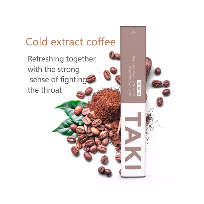 XIAOMI TAKI mini disposable e-cigarette Nicotine content 50mg/ml-kit-TAKI-Cold Extract Coffee-SmokDaddy