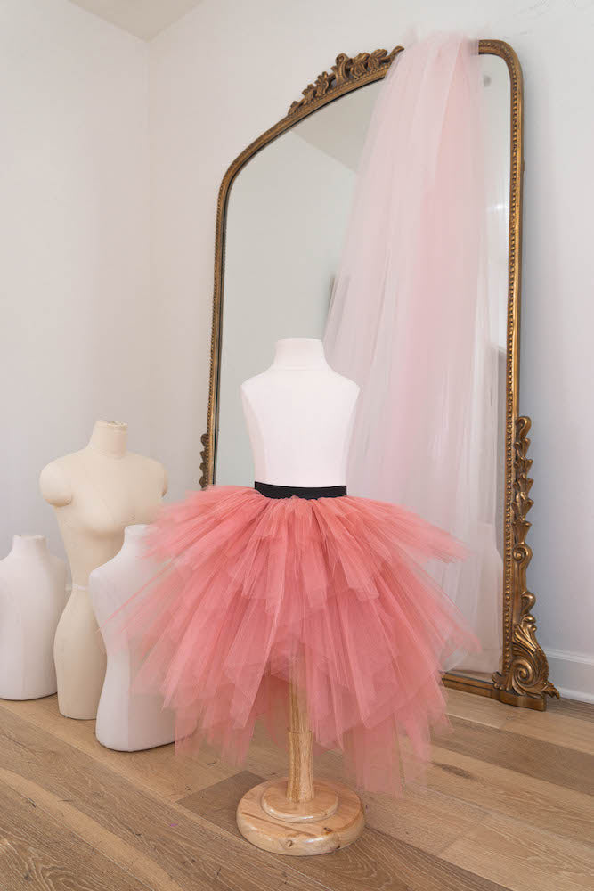The Princess in candy pink - Flowers and Ruffles
