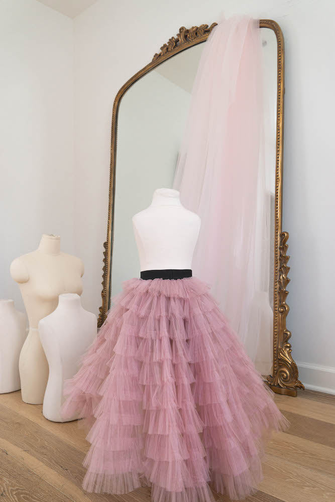 In love in pink - Flowers and Ruffles