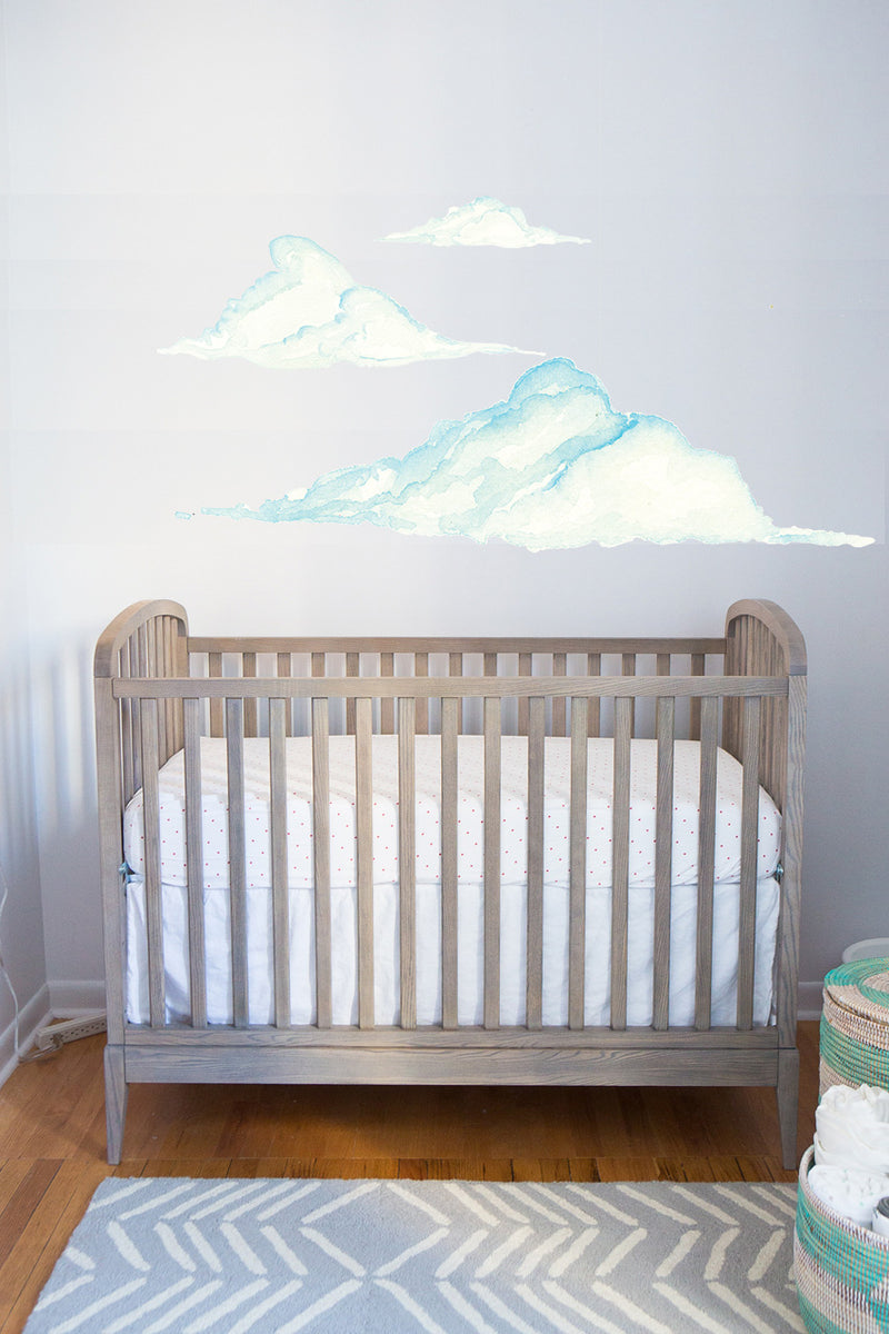 Cloud Set Wall Stickers for Baby Room Nursery
