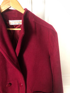 Manteau bordeaux