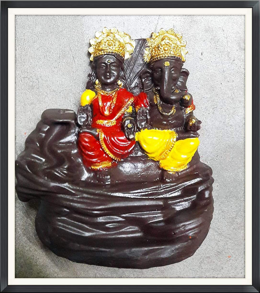 Lord Laxmi Ganesha Incense Burner