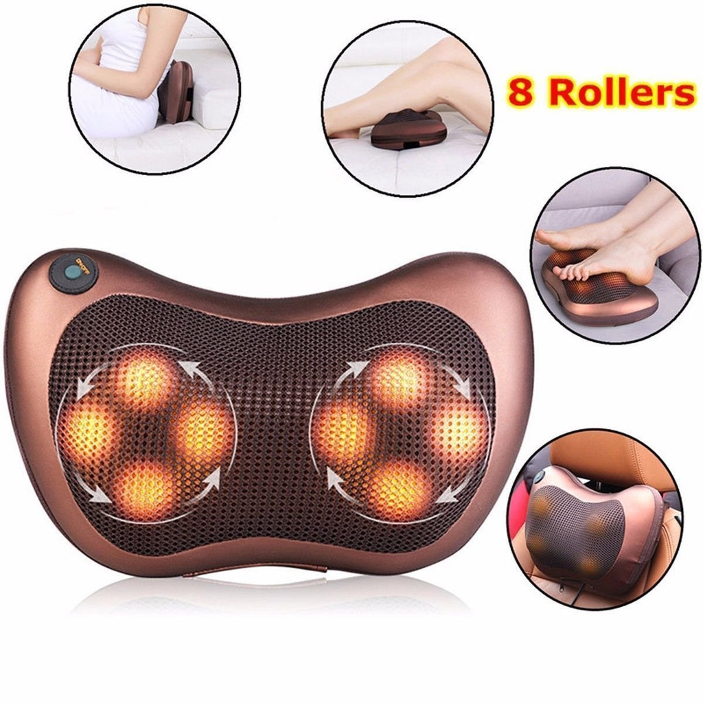 Self Rotating & Rolling Massager
