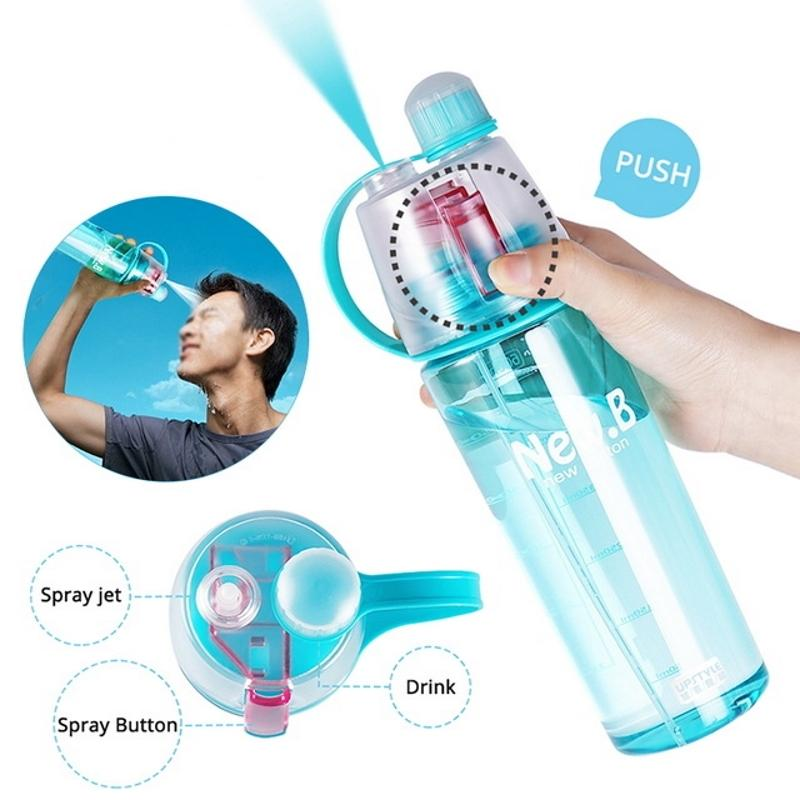 Atomizing Mist Spray Water Bottle