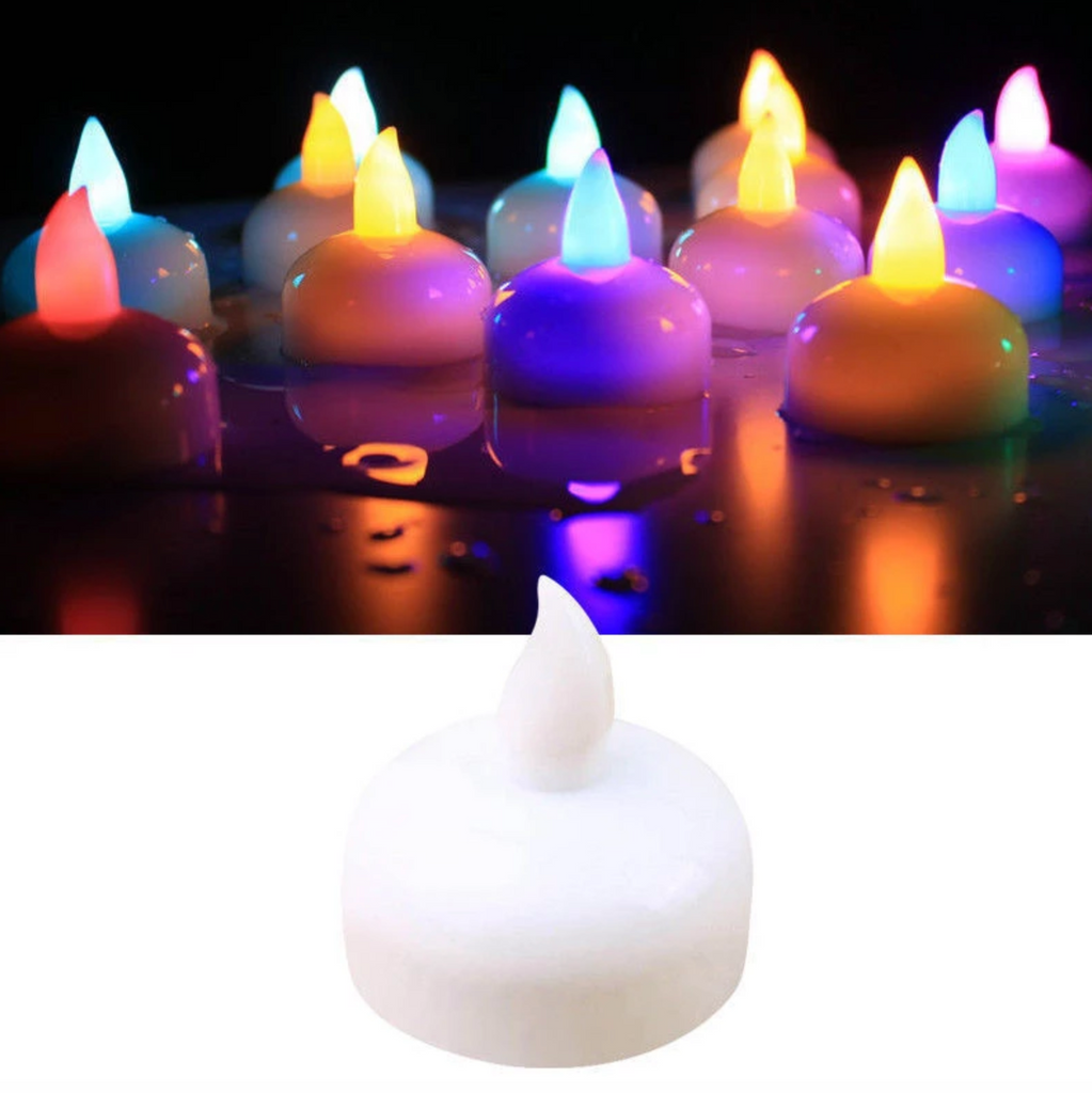 Flameless Water Sensor LED DIYA -Pack Of 6 - DIWALI SPECIAL