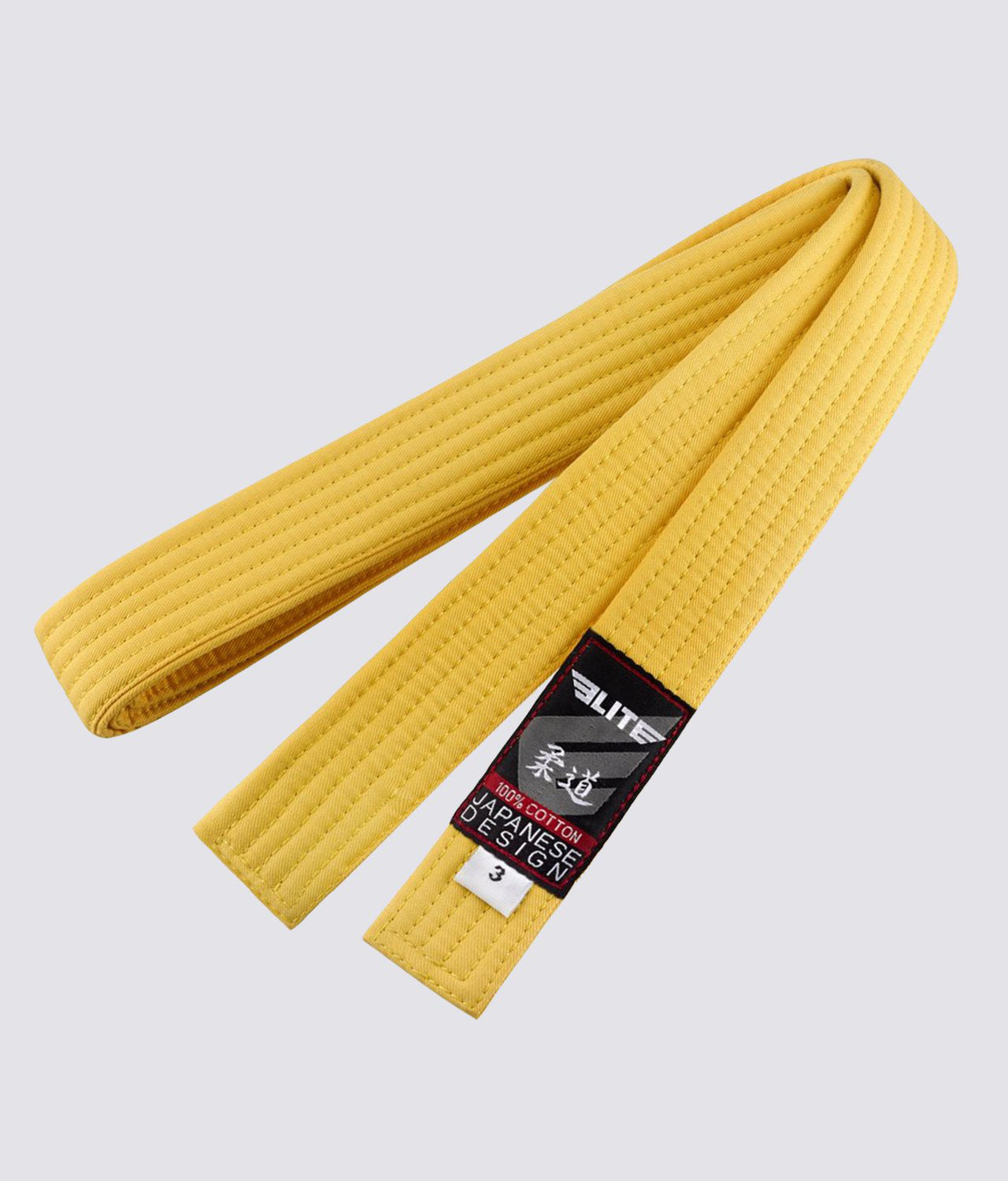 Elite Sports Adult Judo Yellow Belt