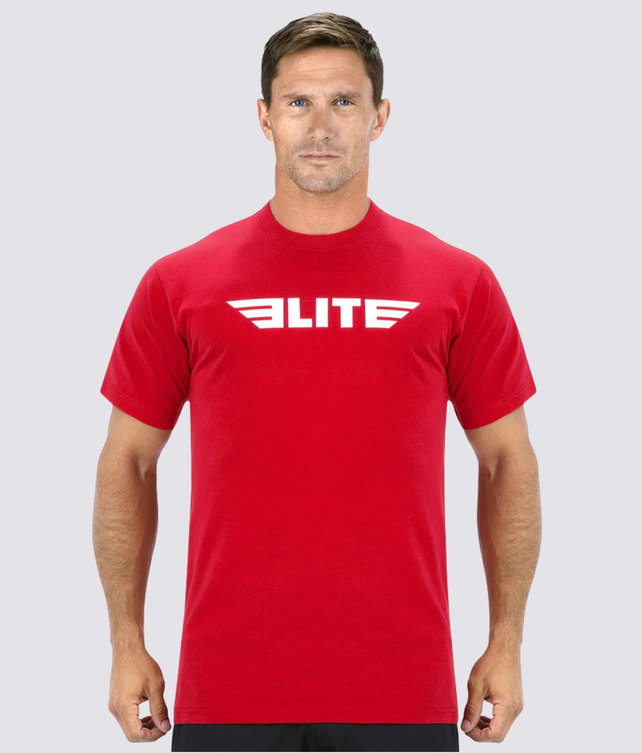 Elite Sports Antibacterial Red MMA T-Shirts