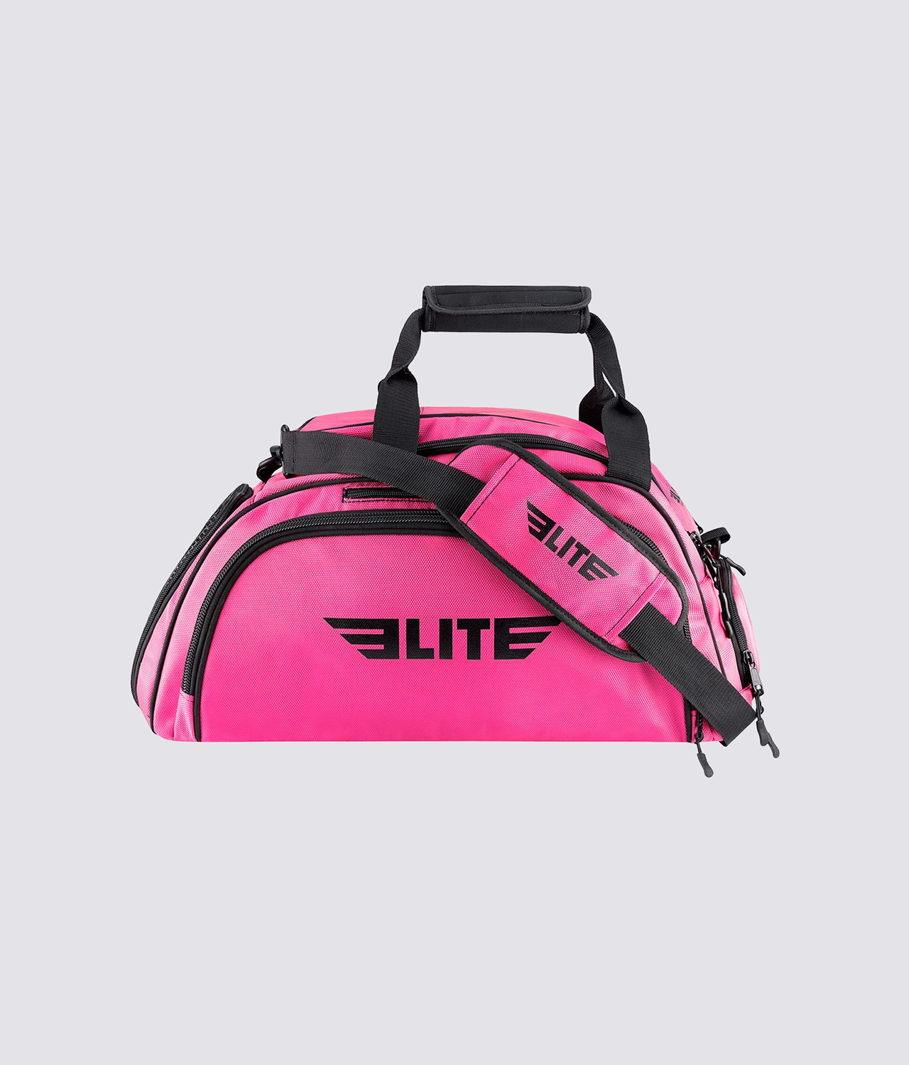Elite Sports Warrior Series Pink Large Duffel Muay Thai Gear Gym Bag & Backpack