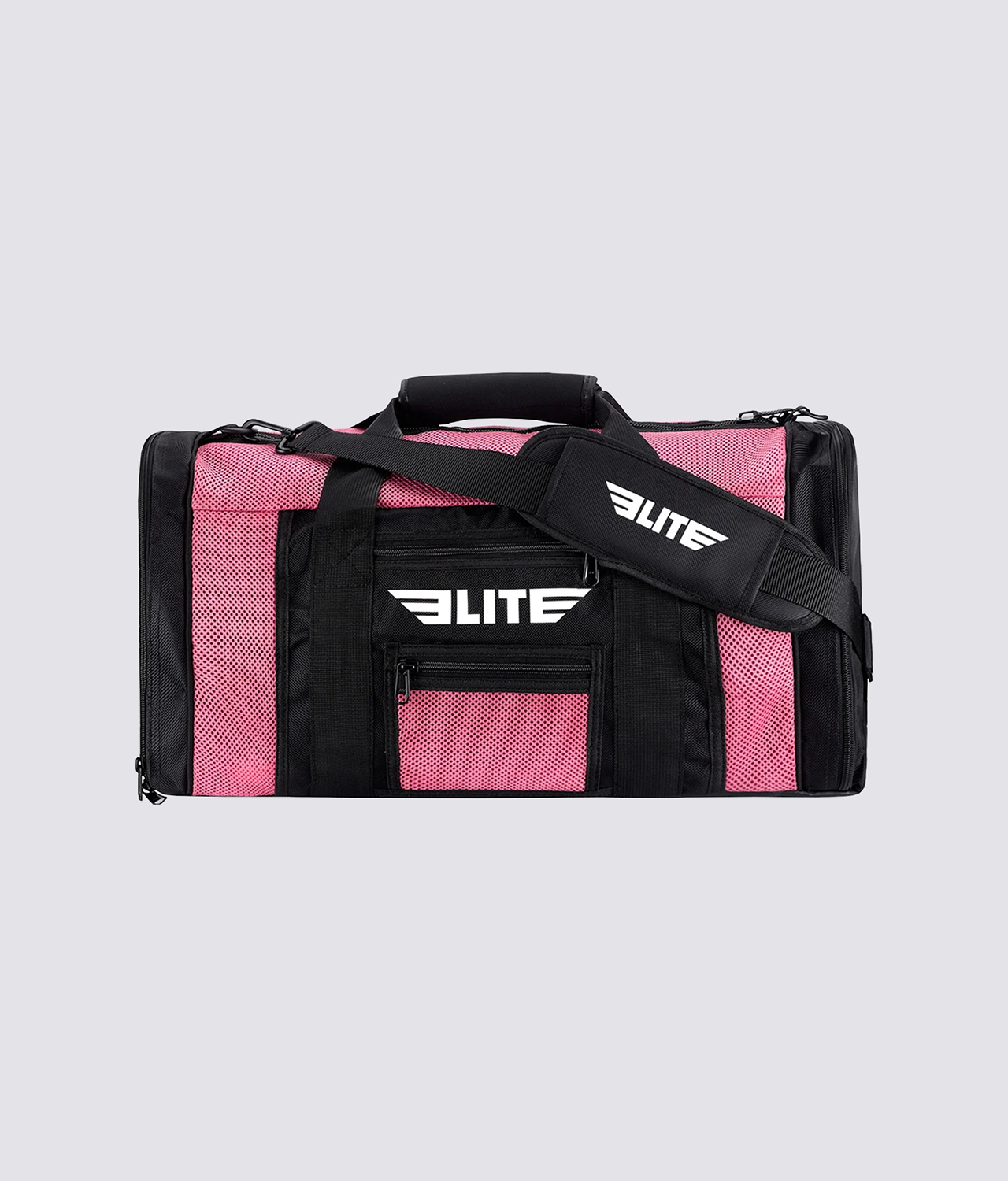 Elite Sports Mesh Pink Large Muay Thai Gear Gym Bag