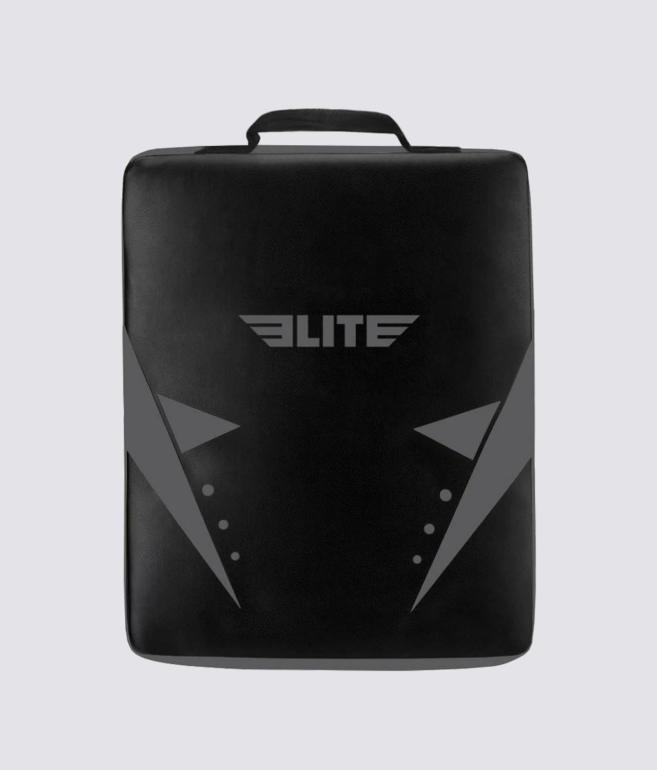 Elite Sports Black/Black Muay Thai Strike Shield Kick Pad