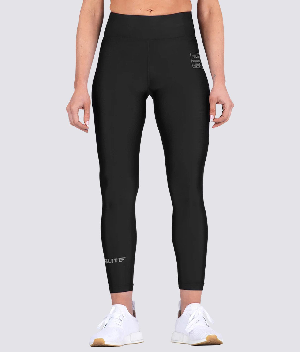 Elite Sports Black Women Compression Judo Spat Pants