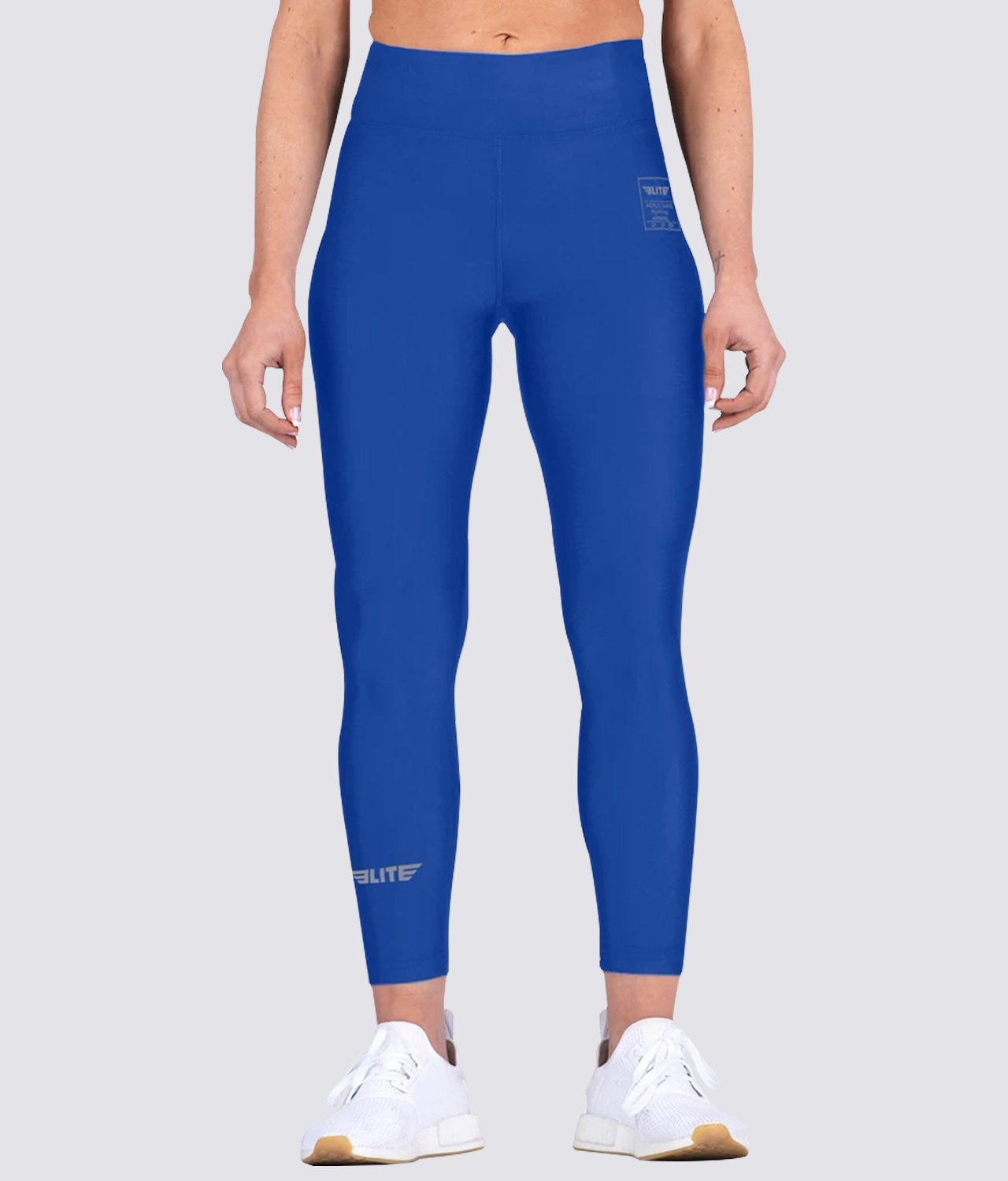 Elite Sports Blue Women Compression MMA Spat Pants