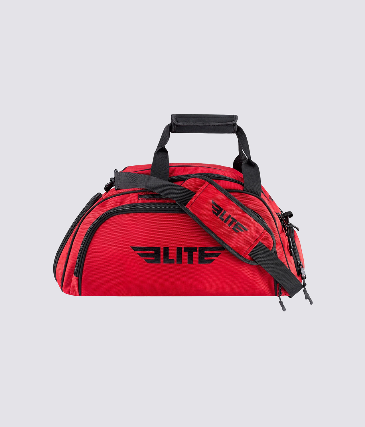 Elite Sports Warrior Series Red Medium Duffel Muay Thai Gear Gym Bag & Backpack